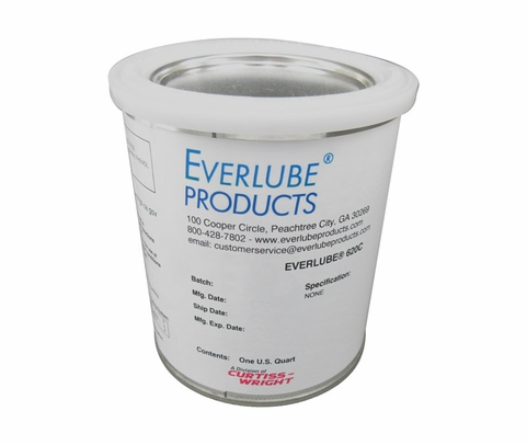 Everlube® 620C 40% Concentrate Gray/Black Thermally Cured MoS2/Graphite Based Solid Film Lubricant - Quart Can