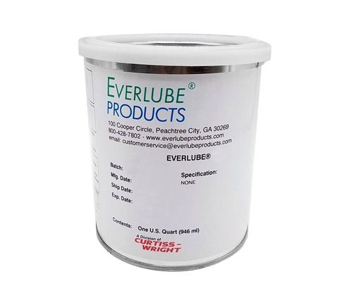 Everlube� Ecoalube� 642 Diluted Gray/Black MIL-L-46010E Type II Spec Thermally Cured Mos2 Solid Film Lubricant - Quart Can
