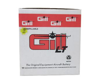 Gill 7243-16 Sealed Lead Acid Aircraft Battery