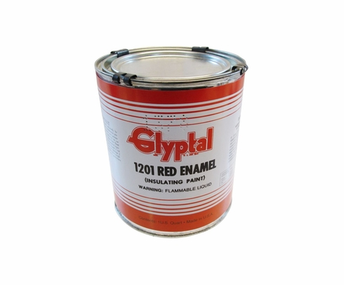 Glyptal� 1201 Red MIL-E-22118 Spec Insulating Enamel Alkyd Paint - Quart Can