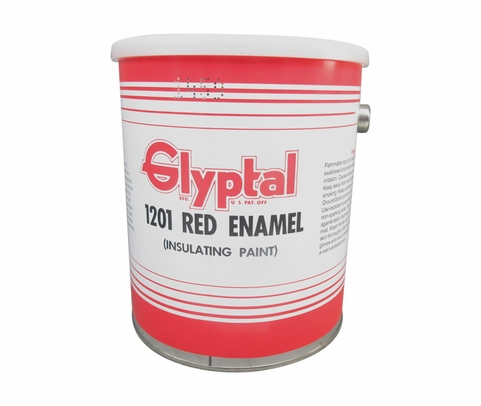 Glyptal� 1201 Red MIL-E-22118 Spec Insulating Enamel Alkyd Paint - Gallon Can