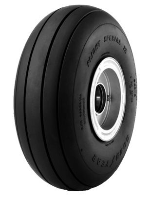 Goodyear® Aviation 505C41-4 Flight Special II™ 5.00x5 4 Ply 120 mph Aircraft Tire