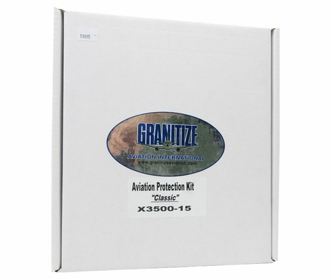 GRANITIZE� X3500-15 XZILON 3 Classic Paint Aircraft Exterior Protection - 5-Item Kit