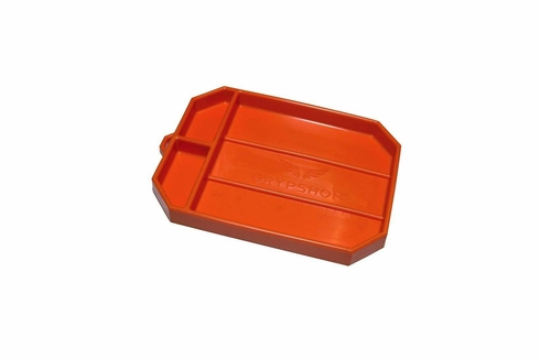 "GRYPMAT� RFGM-CR02S Orange Flexible 8"" x 12"" Medium Non-Slip Tool Mat"