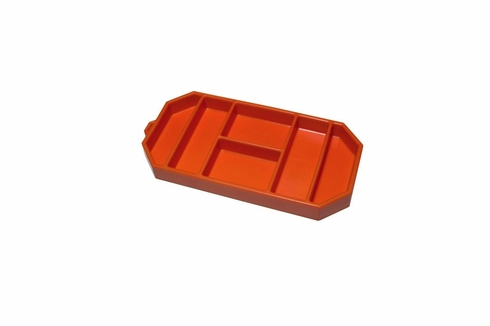 "GRYPMAT� RFGM-CR03S Orange Flexible 6"" x 12"" Small Non-Slip Tool Mat"