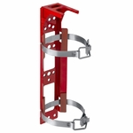 H3R Aviation Model BKT325 Red Fire Extinguisher Model 347 & 349 Bracket