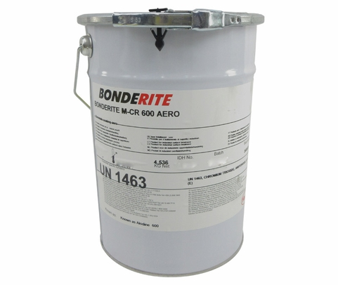 "Henkel 598459 BONDERITE� M-CR 600� AERO ""Powder Form"" Light Metals Conversion Coating - 10 lb Can"
