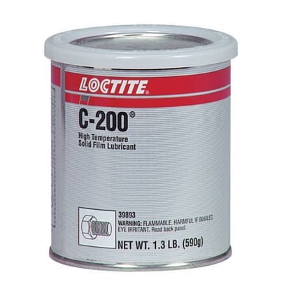 Henkel Loctite 39893 LOCTITE� LB C-200� Gray High-Temperature Solid Film Lubricant - 590 Gram (1.3 lb) Can