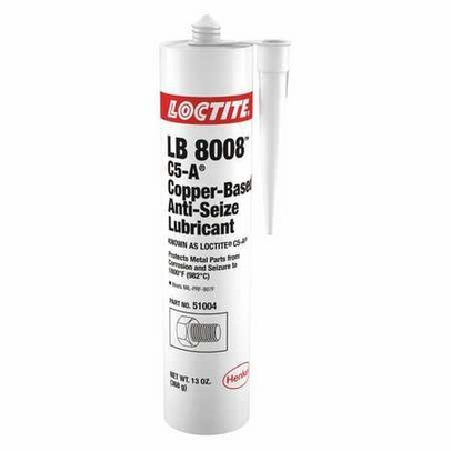 Henkel 51004 LOCTITE� LB 8008� C5-A� Copper Based Anti-Seize Lubricant - 368 Gram (13 oz) Cartridge
