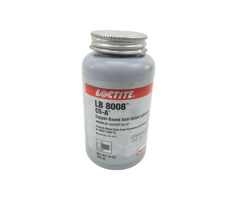 Henkel 51005 LOCTITE� LB 8008� C5-A� Copper Based Anti-Seize Lubricant - 283 Gram (10 oz) Brush-Top Can
