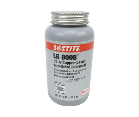 Henkel 51147 LOCTITE� LB 8008� C5-A� Copper Based Anti-Seize Lubricant - 226.8 Gram (8 oz) Brush-Top Can