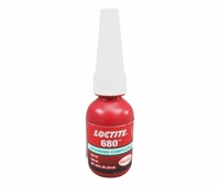 Henkel 68015 Loctite 680 Green High Strength Viscosity Retaining Compound 10 Ml 34 Oz Bottle At Skygeek Com