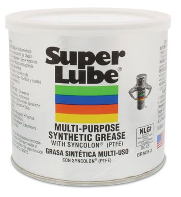 Super Lube� 41160 Translucent Multi-Purpose Synthetic Grease with Syncolon� (PTFE) - 400 Gram (14.1 oz) Can