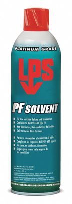 LPS� 61420 PF Solvent Clear/White Penetrating Degreaser - 20 oz Aerosol Can