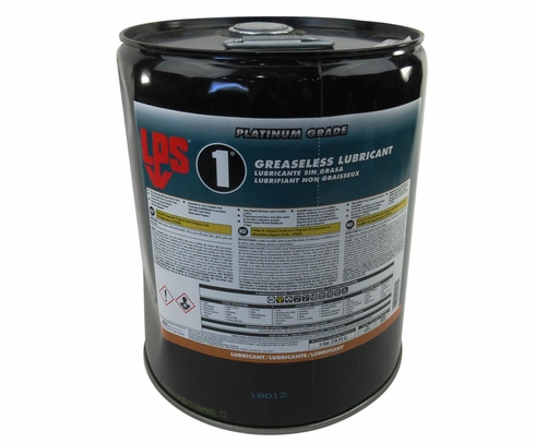 LPS� 00105 LPS-1 Amber Greaseless Penetrant Lubricant - 5 Gallon Steel Pail