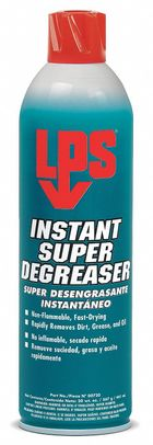 LPS� 00720 Yellow Non-Flammable Instant Super Degreaser - 20 oz Aerosol Can