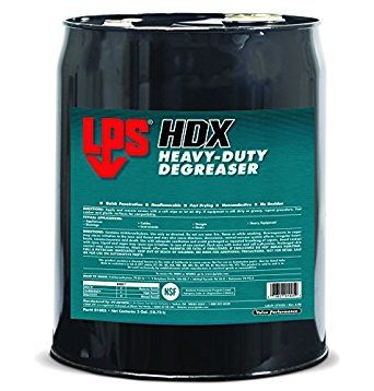 LPS� 01005 HDX Light Brown Heavy-Duty Solvent Degreaser - 5 Gallon Steel Pail