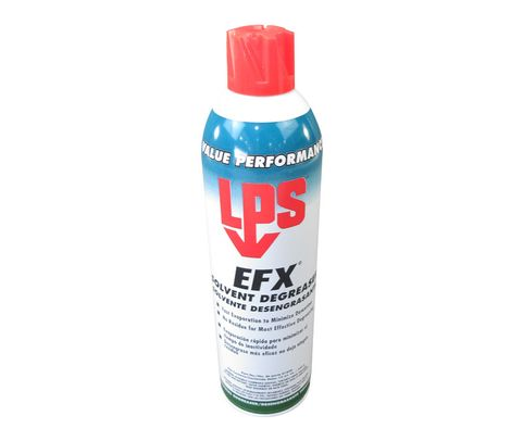 LPS� 01820 EFX Clear Solvent Degreaser - 15 oz Aerosol Can