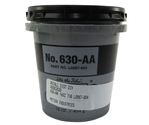 LUBRIPLATE� L0067-004 No. 630-AA White NLGI Grade 1 Multi-Purpose Lithium Grease - 16 oz (454 Gram) Tub