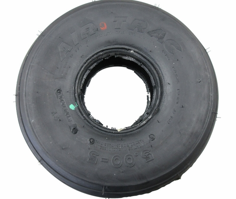 McCreary® AA1D4 Air Trac® Black 5.00-5 6-Ply Aircraft Tire