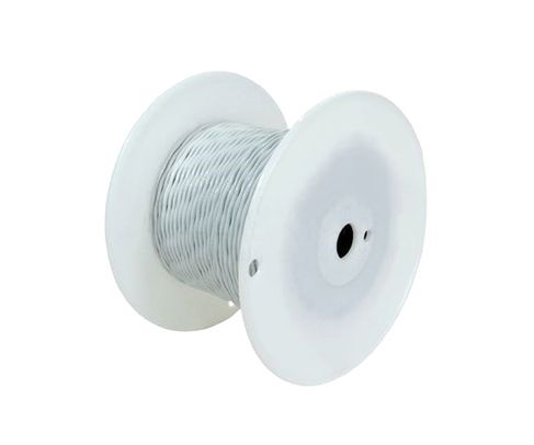 Military Specification M22759/11-22-3 Orange 22 AWG PTFE Tapes/Coated Fiberglass Braid Wire - Sold per Foot