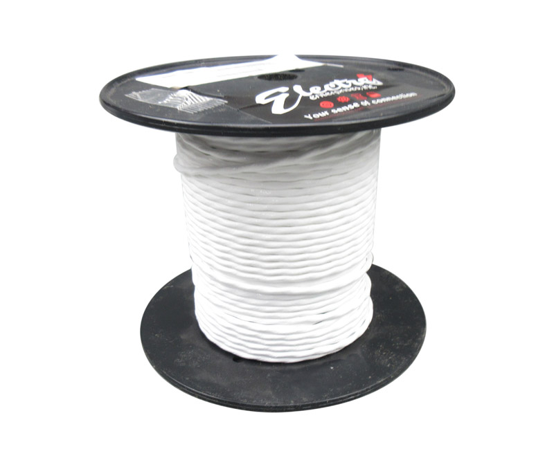 44A0111-22-9 TE CONNECTIVITY // RAYCHEM 100M 22AWG WHITE WIRE