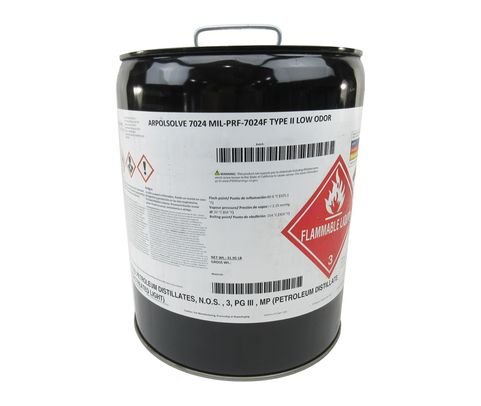 Military Specification MIL-PRF-7024 Type II Calibrating Fluid, Aircraft Fuel System Components - 5 Gallon Pail