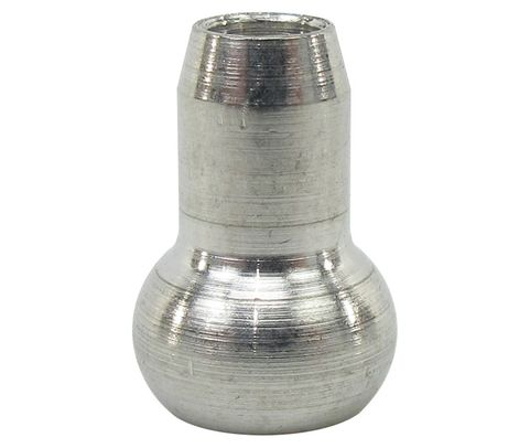 """Military Standard MS20664C4 Stainless Steel 1/8"""" Wire Rope Swaging Single Shank Ball"""