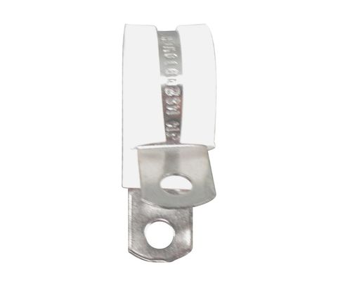 Military Standard MS21919WCH10 Stainless Steel Cushioned Clamp, Loop