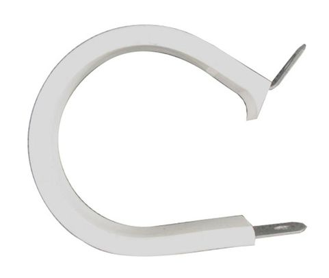 Military Standard MS21919WCH25 Stainless Steel Cushioned Clamp, Loop