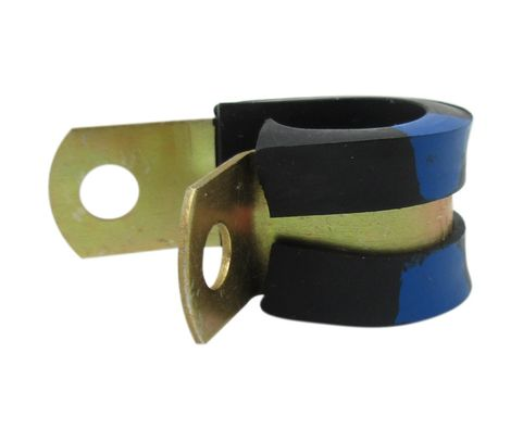 Military Standard MS21919WDG7 Aluminum Band with Chloroprene Cushion Clamp, Loop