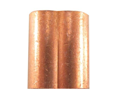 "Military Standard MS51844-47 Plain Copper 7/32"" Swaging-Wire Rope Sleeve"
