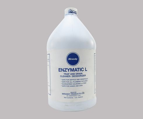 Mirandy Enzymatic L Aircraft Trap & Drain Gray Water System Enzyme Cleaner - Gallon Jug