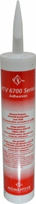 Momentive� RTV-6708-12C Clear Silicone Adhesive Sealant - 300 mL Cartridge