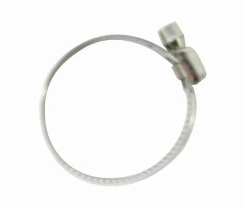 National Aerospace Standard NAS1922-0150-3 Stainless Steel Hex Head Clamp, Hose