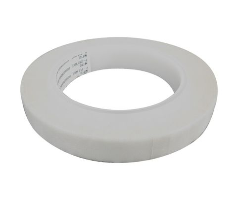 """Nitto P-212 White 3/4"""" 7.5-MIL High-Temperature Glass Cloth Tape - 36 Yard Roll"""
