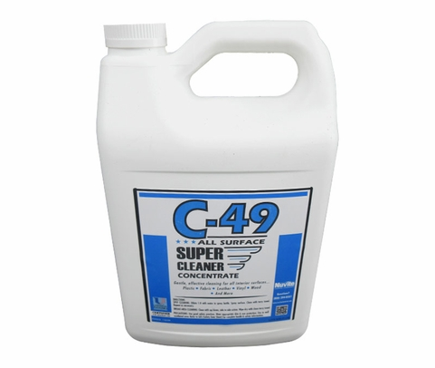 Nuvite PC20201GL C-49 Aircraft Interior All-Purpose Surfaces Super Cleaner - Gallon Jug