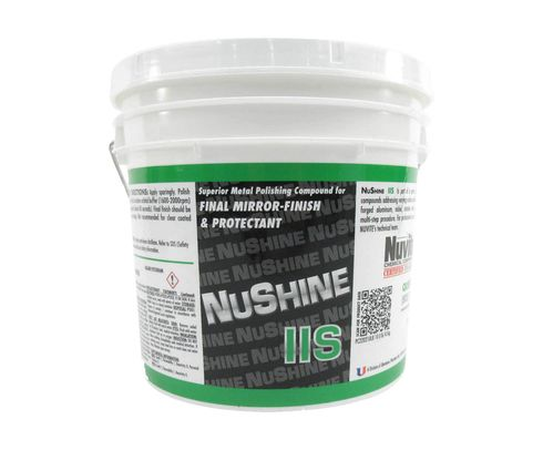 Nuvite PC220210LB Nushine II Grade S Final Finish Only Aircraft Metal and Paint Polish - 10 lb Pail