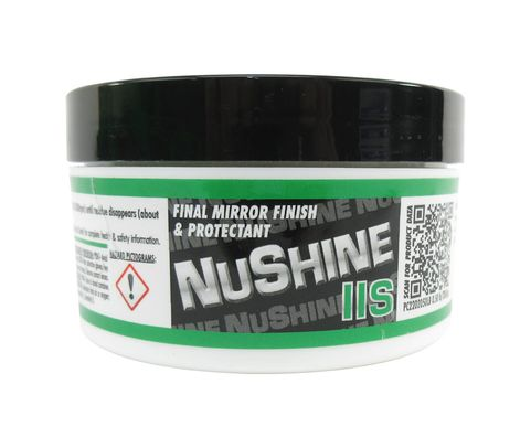 Nuvite PC2202050LB Nushine II Grade S Final Finish Only Aircraft Metal and Paint Polish - 1/2 lb Jar