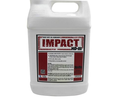 Nuvite PC22611GL Impact HD III Gel-Based Biodegradable Aircraft Heavy-Duty Degreaser & Cleaner - Gallon Jug