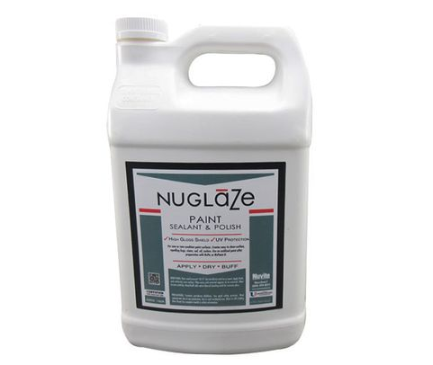 Nuvite PC22751GL NuGlaze PolyFluoro Sealant Aircraft Paint Glosser & UV Protectant - Gallon Jug