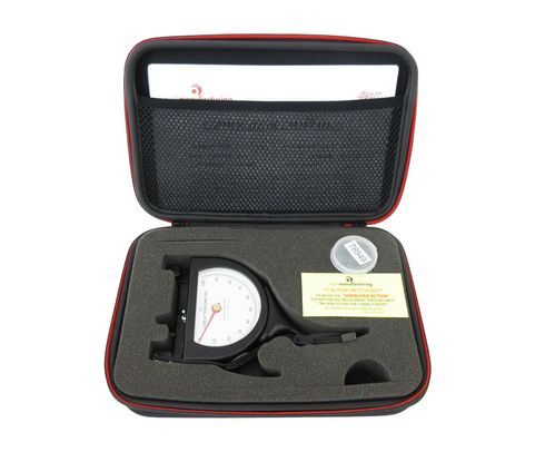 """Pacific Scientific T5-8005-111-00 Black Dial Indicating 3/16"""" to 1/4"""" & 500-2000 lbs Cable Tensiometer"""