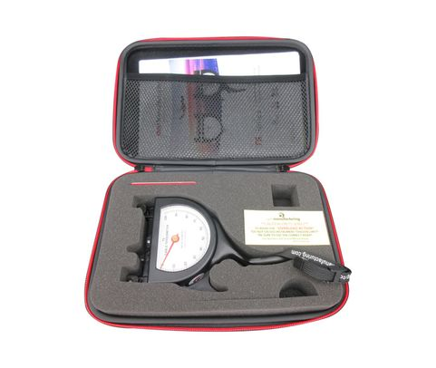 """Pacific Scientific T5-8203-108-00 Black Dial Indicating 3/8"""" & 20-1000 lbs Cable Tensiometer"""