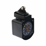 Precision Aviation PACMO-CESNO2 One-piece Cessna Windshield Vertical Card Compass Mount