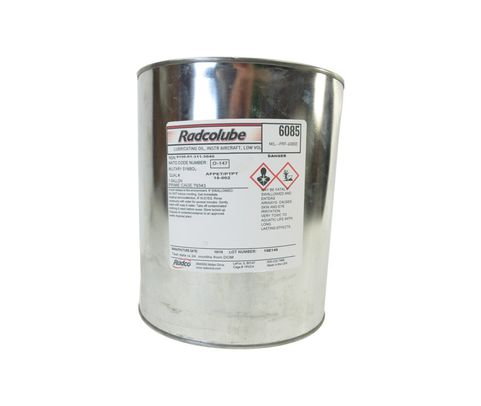 RADCOLUBE� 6085 Red MIL-PRF-6085E Spec Instrument Lubricating Oil - Gallon Can