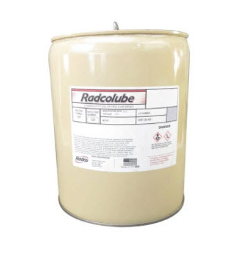 RADCOLUBE® RHP5606 Red MIL-PRF-5606J Spec Petroleum Base Non-Synthetic Hydraulic Fluid - 5 Gallon Pail