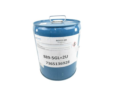 ROYCO® 889 Amber Synthetic Compressor Lubricant - 5 Gallon Steel Pail