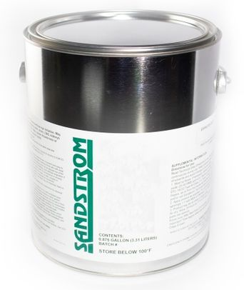 Sandstrom Poxylube� #800 Clear PTFE Modified Heat Cure Dry Film Lubricant - Gallon Can