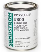 Sandstrom Poxylube® #800 PTFE Modified Heat Cure Dry Film Lubricant