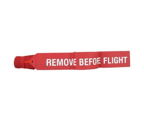 Sesame Technologies KPC3-910-55 Red Kevlar® Single Layer Round Boeing Pitot Cover